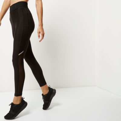 RI Active zwarte mesh sportlegging