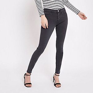 Molly – Jeggings in Blau und Grau