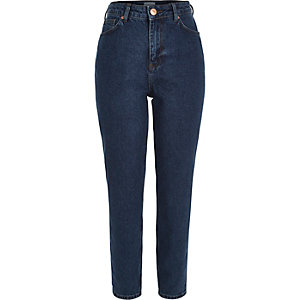 Dark blue authentic Mom jeans