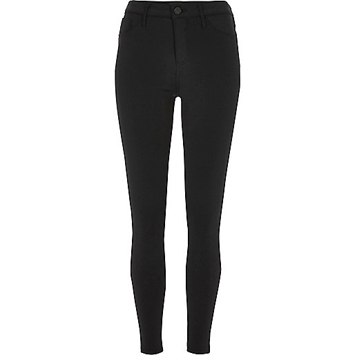 Black sporty Molly jeggings