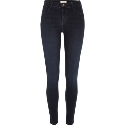 Amelie Dark wash superskinny jeans