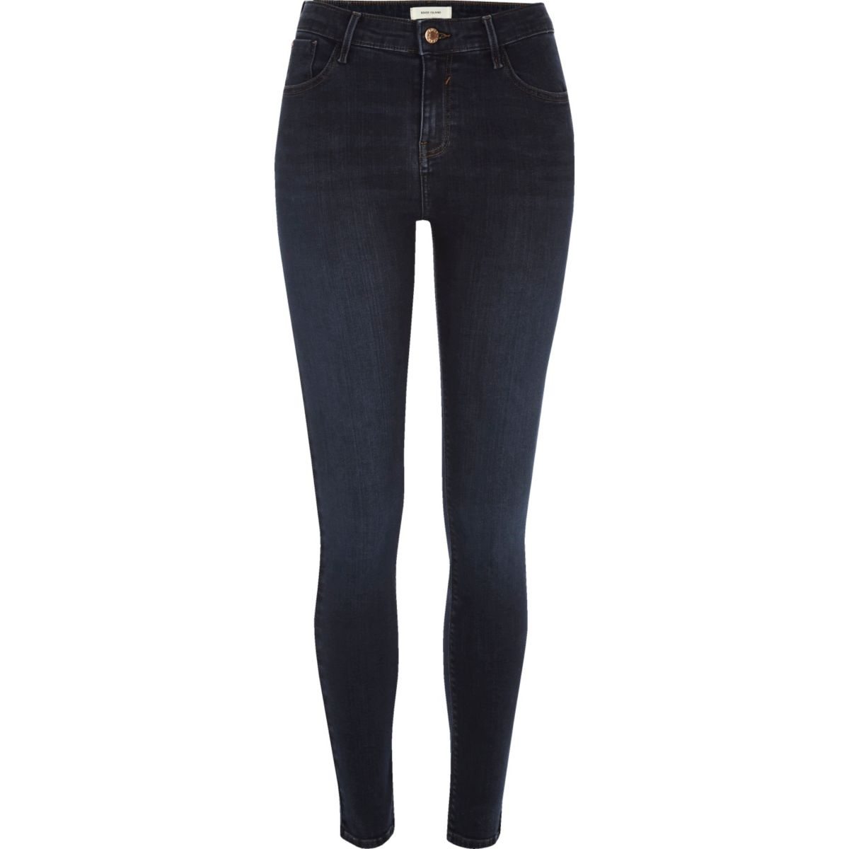Dark wash Amelie super skinny jeans