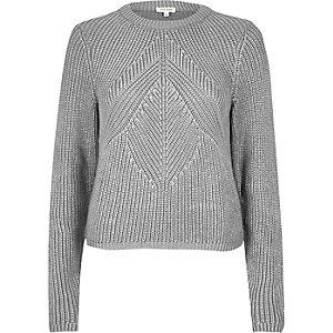 Silver stitch jumper