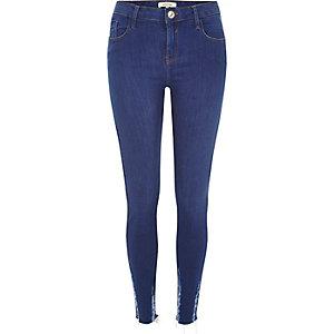 Amelie – Super Skinny Jeans in leuchtendem Blau