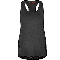 RI Active charcoal mesh sports top