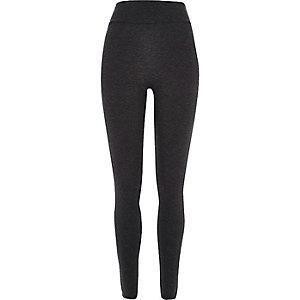 Dark grey high rise leggings