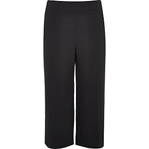 RI Plus black cropped trousers