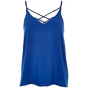 Blue cami top