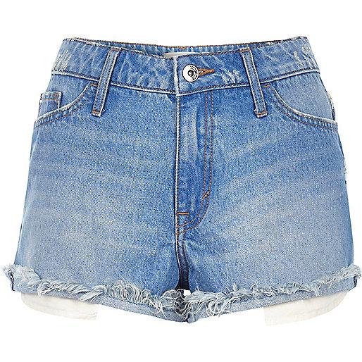 Buzzy blue ruby shorts