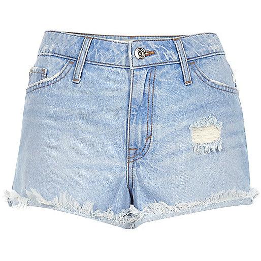 Short en jean bleu clair Ruby