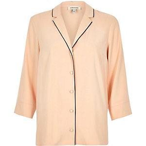 Pink lightweight shirt