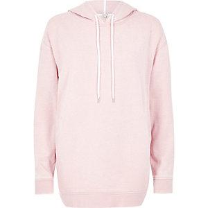 Roze oversized hoodie