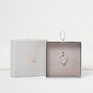Love Luli verzilverde diamanté ring