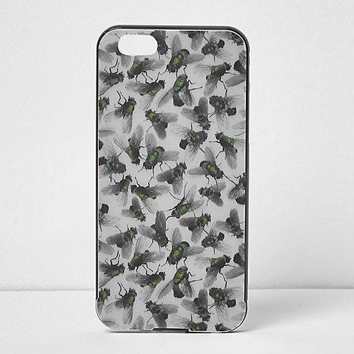 Design Forum – fly – Graue, bedruckte iPhone-6 -Hülle