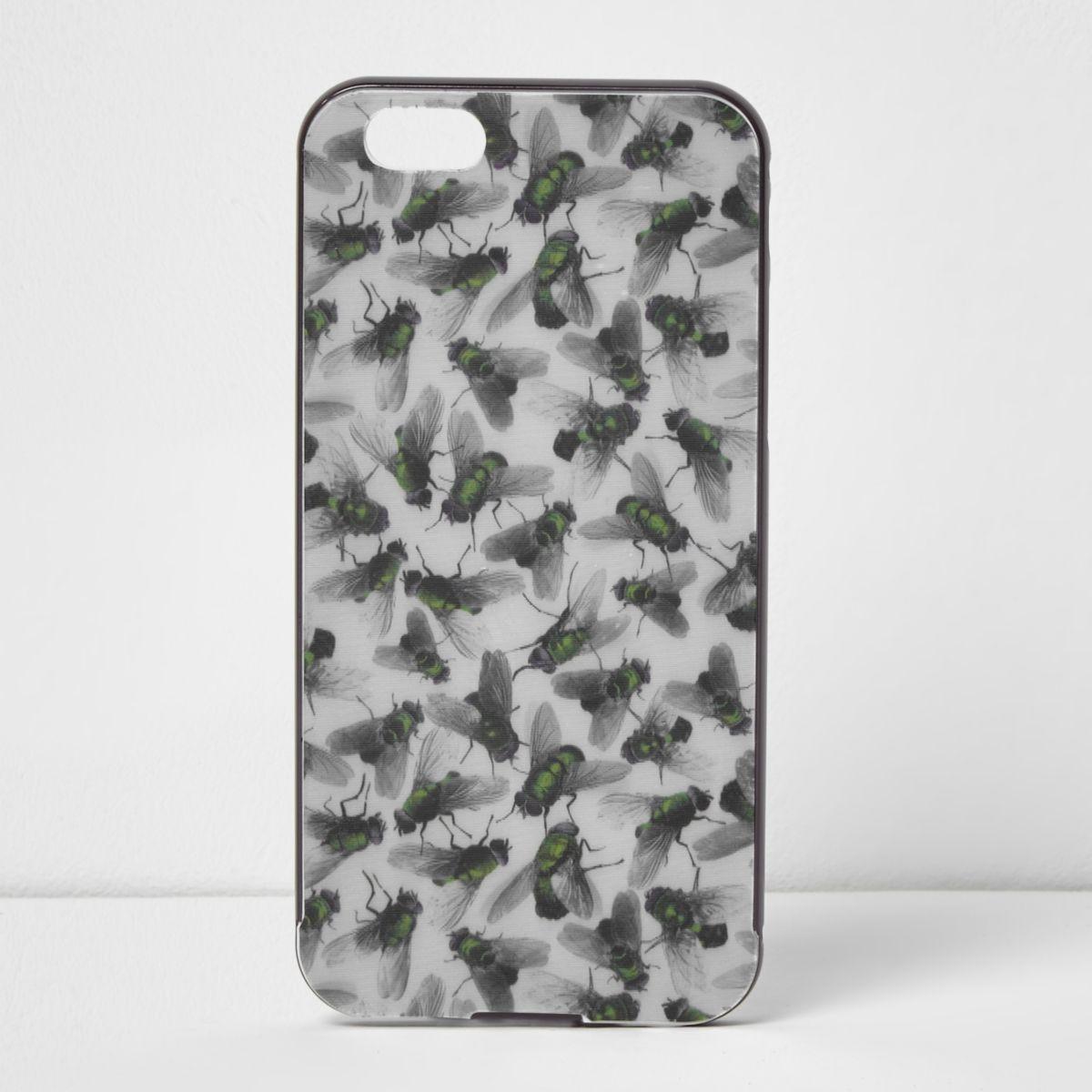 Coque Design Forum imprimé mouche grise pour iPhone 6