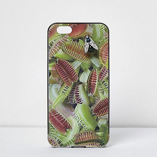 Coque Design Forum motif mange-mouche verte pour iPhone 6
