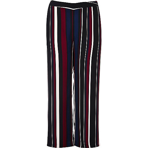 Plus black stripe soft pants