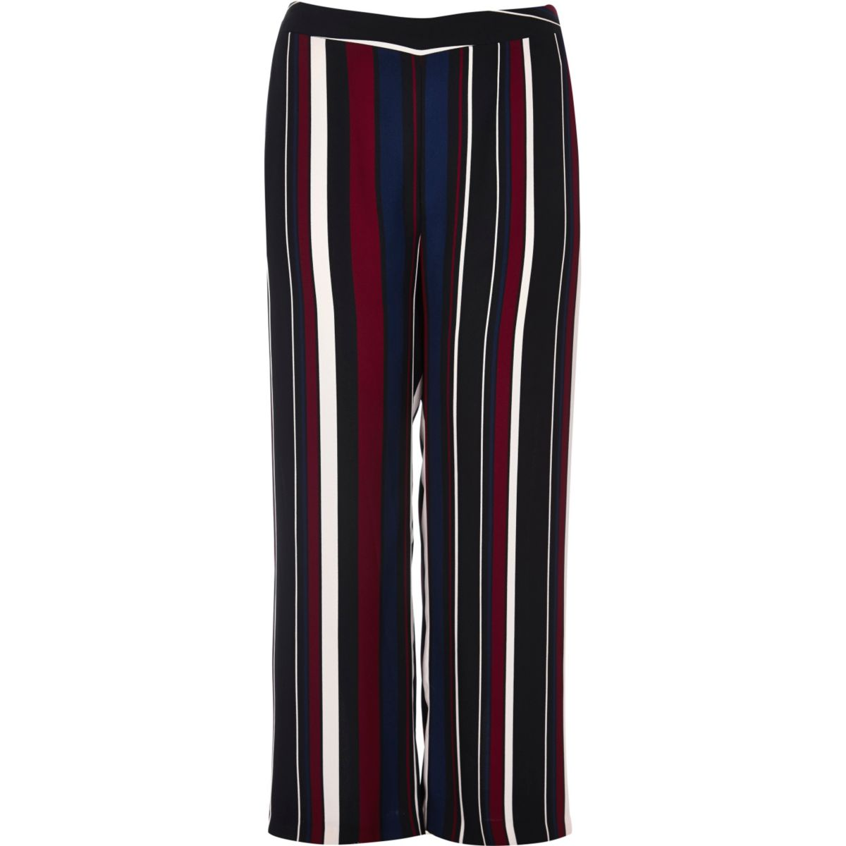 Plus black stripe soft pants