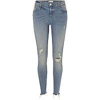 Amelie – Skinny Jeans in authentischer Waschung