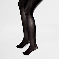 Black 40 denier tights pack
