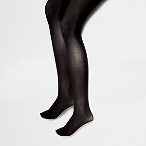 Lot de collants noirs 40 deniers