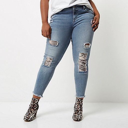 Alannah – Legere Skinny Jeans mit Pailletten