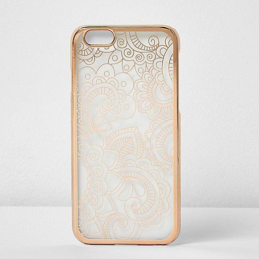 iPhone 6-Hülle in Roségold-Metallic