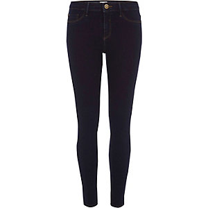 Molly - Donkerblauwe wash jegging