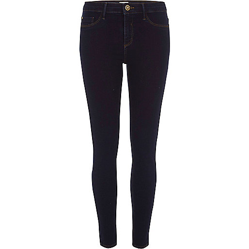 Dark blue wash Molly jeggings