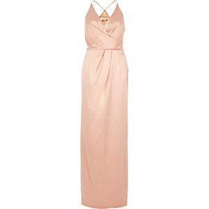 Long Sleeve River Island Maxi Dress Lime