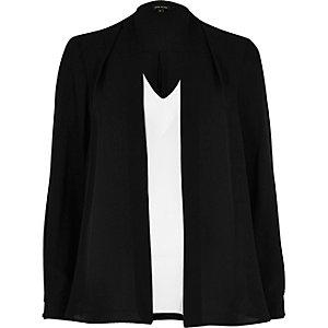 Zwart en witte 2-in-1-blouse