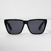 Black angular sunglasses