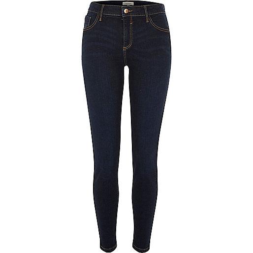 Dark denim Amelie super skinny jeans
