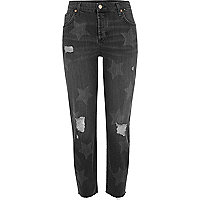 Ashley – Boyfriend-Jeans mit Sternen-Print