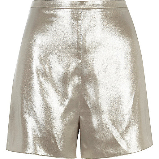 Shorts mit hohem Bund