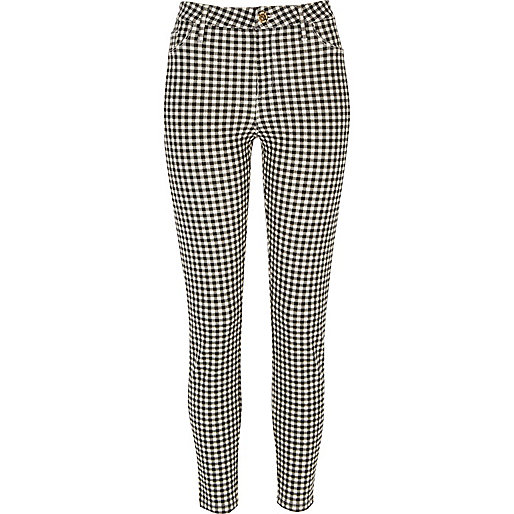 Black gingham Molly trouser