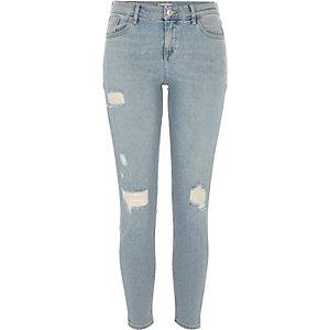 Amelie lichtblauwe denim skinny jeans