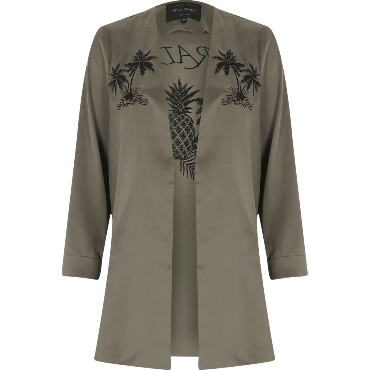 Khaki green paradise duster coat - Coats & Jackets - Sale - women