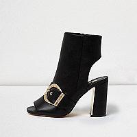 Zwarte laarzen in westernstijl