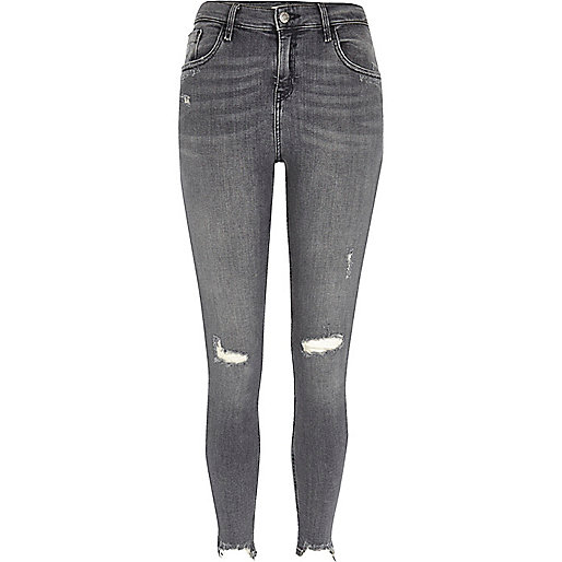 Grey - Womens Jeans - Denim & Boyfriend Jeans - River Island
