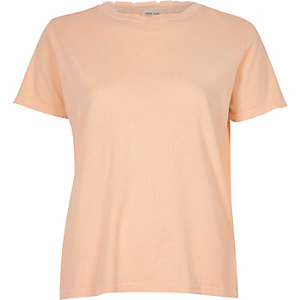 Nude nibbled T-shirt