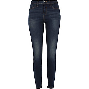 Blue denim Molly skinny jeggings