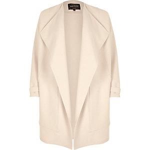 Cream woven fallaway jacket