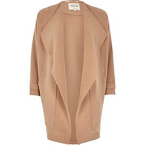 Camel fallaway jacket