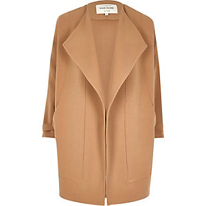 Light brown fallaway jacket