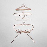 Mehrreihige Halsbänder im Multipack