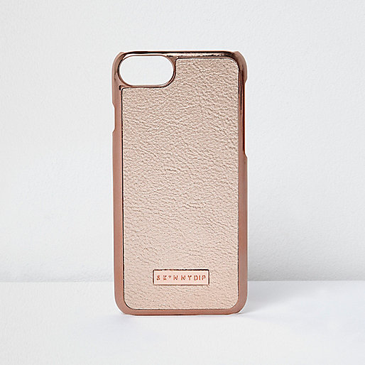 Skinny Dip rose gold tone iPhone 7 case