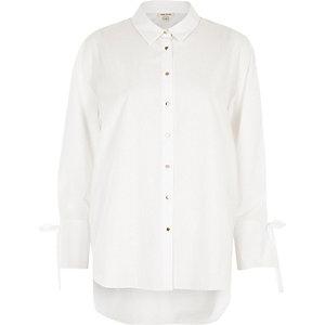 Chemise blanche décontractée
