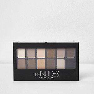 Maybelline Nudes eye palette