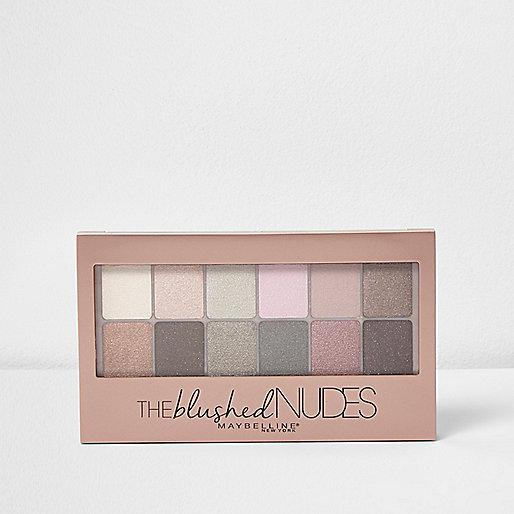 Maybelline Blushed Nudes eye palette
